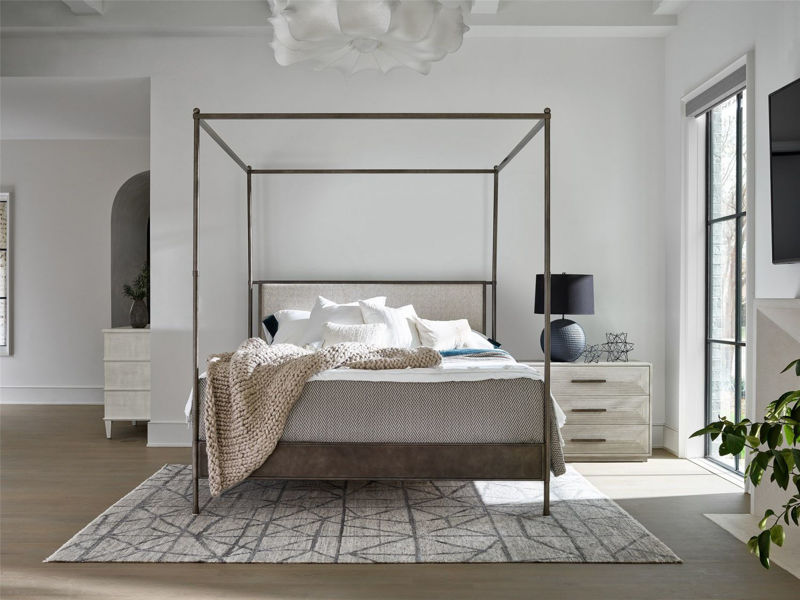 Picture of KENT KING POSTER UPHOLSTERED BED