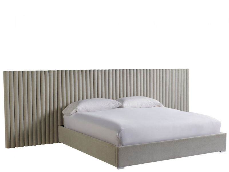 Picture of DECKER KING PANEL UPHOLSTERED BED