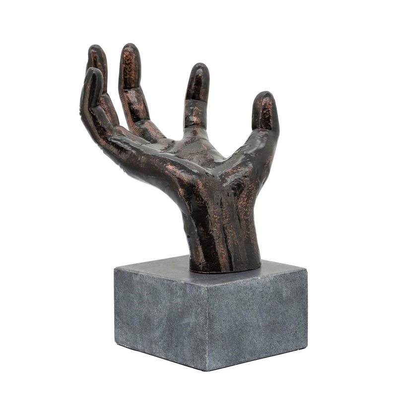 Picture of METAL PALM TABLE ACCENT