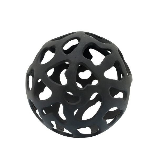 Picture of BLACK METAL CUT-OUT ORB