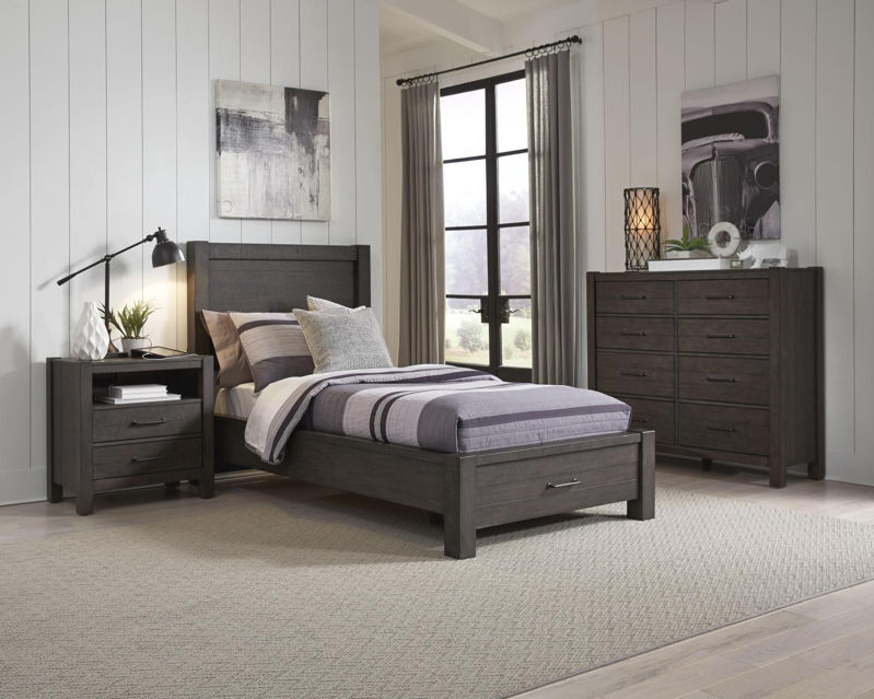 Picture of MILL CREEK TWIN STORAGE BED