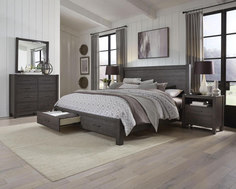 Picture of MILL CREEK QUEEN STORAGE BED