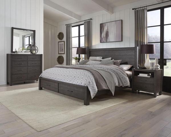 Picture of MILL CREEK QUEEN STORAGE BEDROOM SET